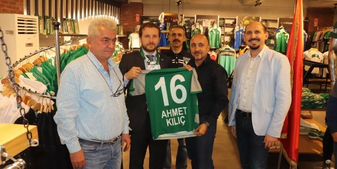 Ahmet Kılıç'tan taraftara lisanslı ürün tavsiyesi