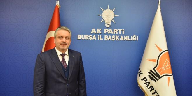 AK Parti Bursa İl Başkanı Ayhan Salman'dan 19 Mayıs Mesajı