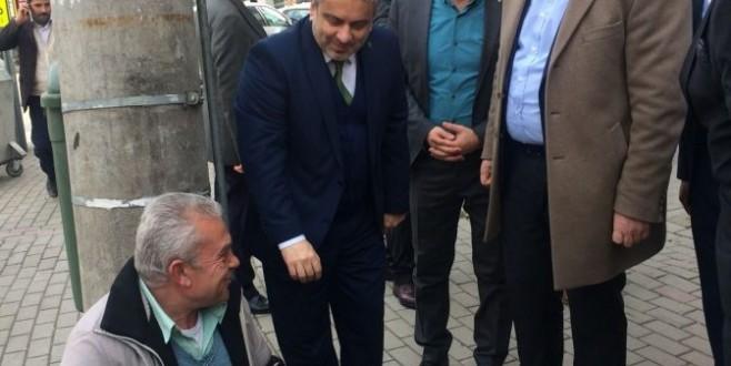 AK Parti Bursa İl Başkanı Salman sahaya indi