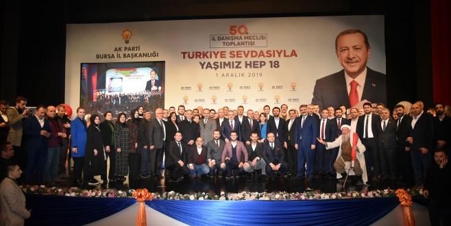 AK Parti Bursa İl Başkanlığı İl Danışma Meclisi Gerçekleşti