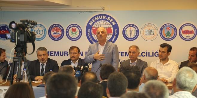 AK Parti Bursa Milletvekilleri Memur-Sen'de