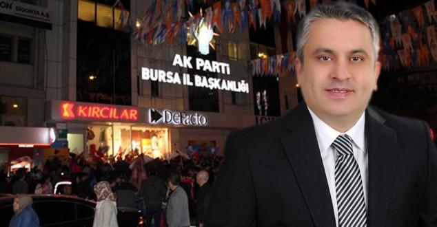 AK Parti Bursa Yeni İl Yönetimi Belli Oldu