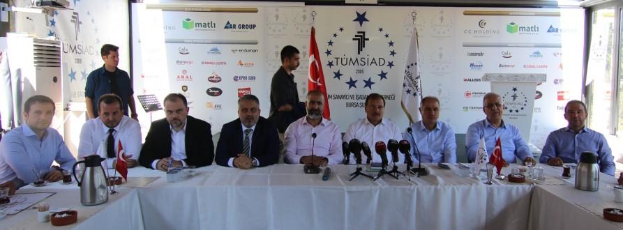 AK Parti'den TÜMSİAD Bursa'ya Teşekkür Ziyareti