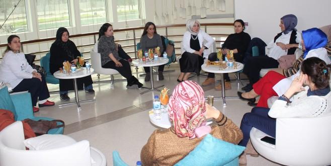 Anne adayları Doruk'ta bilgilendi