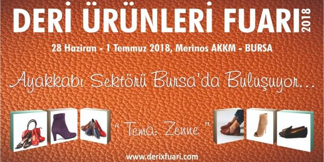 Ayakkabı sektörünün kalbi Bursa'da atacak