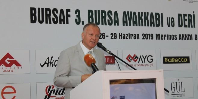 Ayakkabı ve Deri Sektörü Bursa'da Buluştu