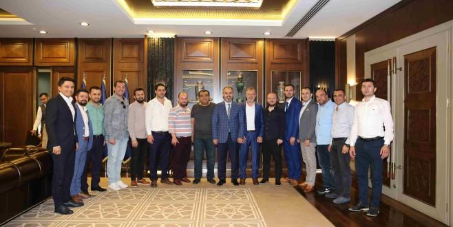 Başkan Aktaş, İnegölspor'a başarılar diledi