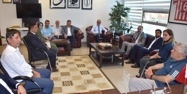 Başkan Aktaş'tan Gemlik Belediyesi'ne ziyaret