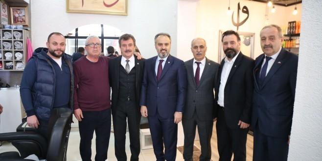 Başkan Aktaş Yenişehir'de coşkuyla karşılandı