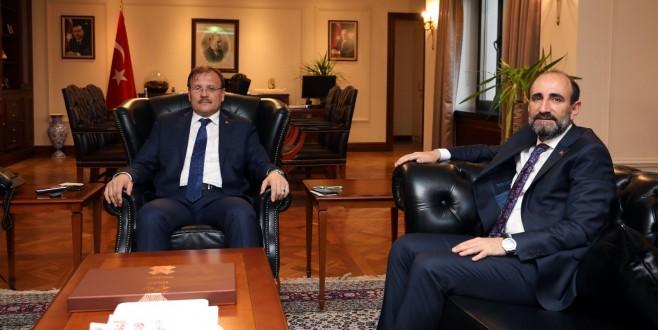 Başkan Edebali'den Ankara Çıkarması