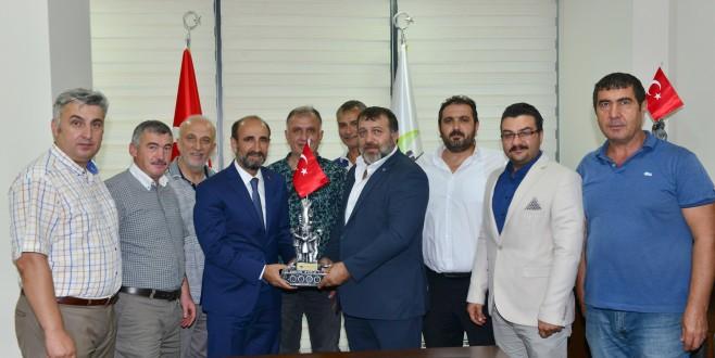 Başkan Edebali'den KARADENİZSİAD'a ziyaret