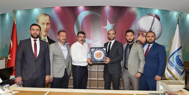 Başkan Yılmaz, MHP Bursa'yı ağırladı
