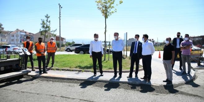 Beton Yol Uygulaması Şehrin Tüm Noktalarına Yayılıyor