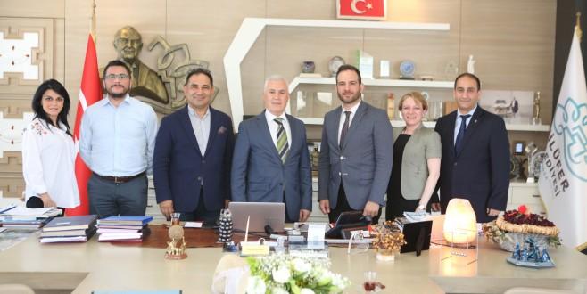 Bilişimcilerden Başkan Bozbey'e ziyaret