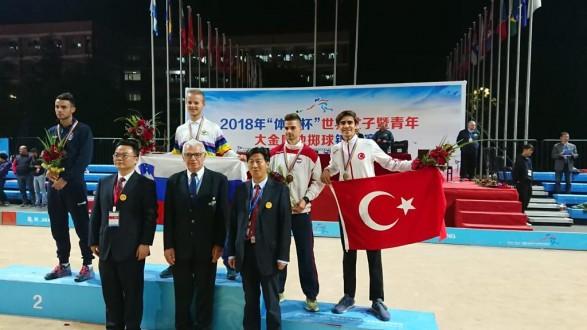 Bocce sporunda Türkiye'ye ilk dünya şampiyonluğu Uludağ Üniversitesi'nden
