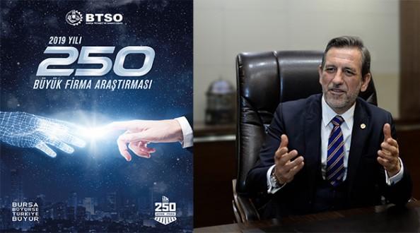 BTSO Bursa'nın En Büyük 250 Firmasını Açıkladı