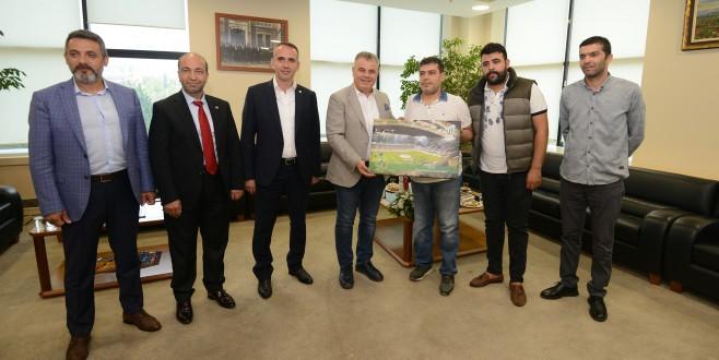 """""""BTSO Bursaspor'un Her Zaman Yanında"""""""
