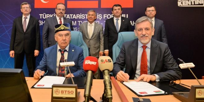 BTSO'da Türkiye-Tataristan İş Forumu