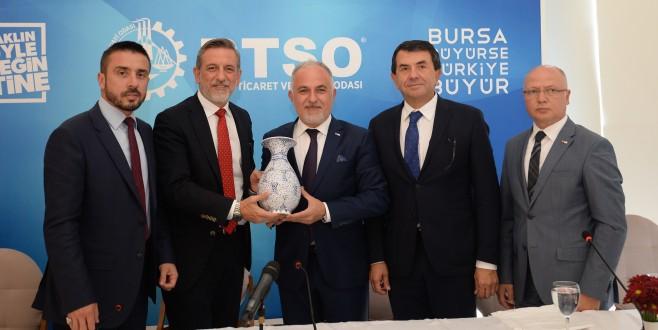 BTSO-Türk Kızılayı İşbirliği