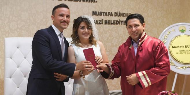 Bursa'da 08.08.2018'de Nikah Çılgınlığı