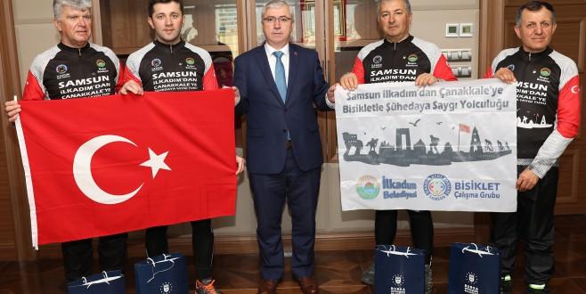 Bursa'da dayanışma örneği