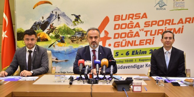 Bursa'da Doğa Sporları ve Doğa Turizmi Günleri Başlıyor