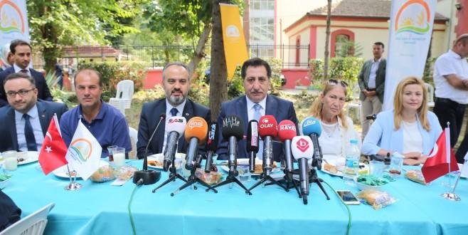 Bursa'da engelleri 'tarımla' aştılar