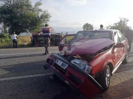 Bursada kaza: 1 ölü, 7 yaralı!