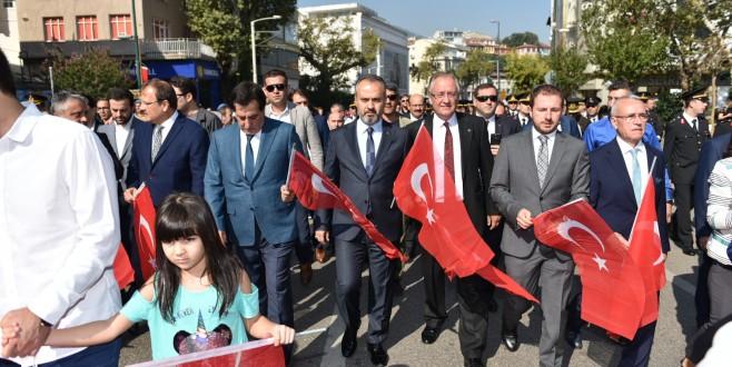 Bursa'da kurtuluş coşkusu