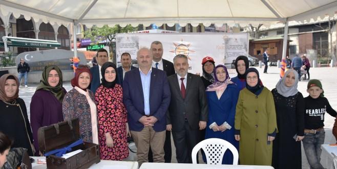 Bursa'da mehmetçik sevgisi satırlara sığmadı