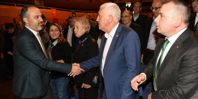Bursa'da muhtarlarla büyük buluşma