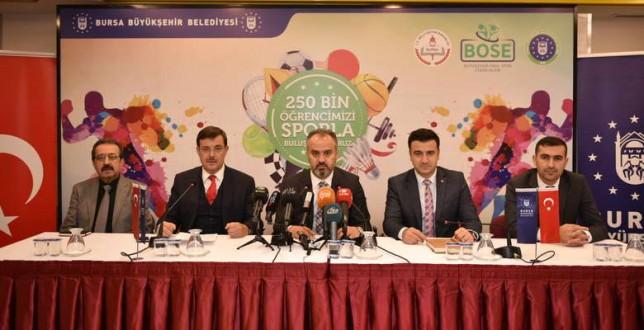 Bursa'da okul spor etkinlikleri başlıyor