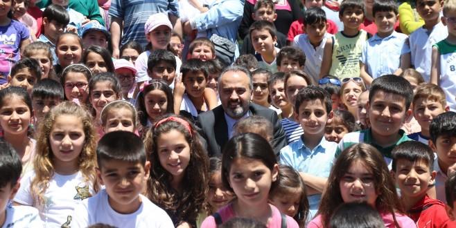 Bursa'da 'Tekne orucu' tutan çocuklara iftar