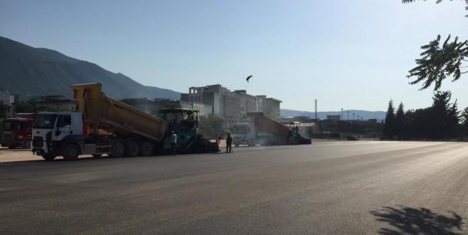 Bursa'da yollarda hummalı çalışmalar sürüyor