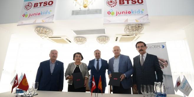 Bursa'dan Kırgızistan'a İhracat Seferi