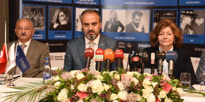 Bursa Festivali'nde 57. yıl heyecanı