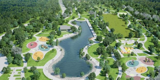 Bursa'ya 1,5 milyon metrekarelik 8 yeni dev park inşa ediliyor