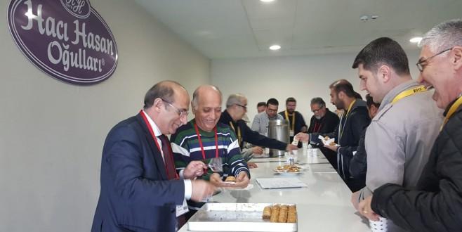 Bursaspor'a tatlı destek