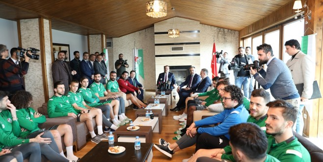 Bursaspor için güç birliği