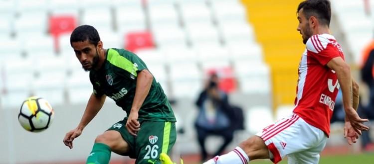 Bursaspor Sivasspor ile golsüz berabere kaldı