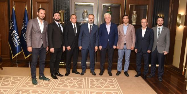 Bursaspor yönetimi Büyükşehir'de