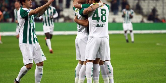 Bursaspor yükselişe geçti