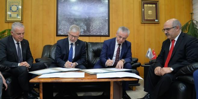 BUÜ'den Makedon üniversiteye bilimsel destek