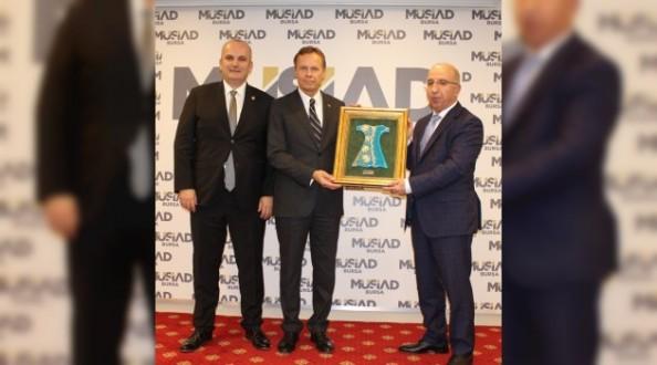 Büyükelçi Bruzga'dan Ekonomik İşbirliği Çağrısı…