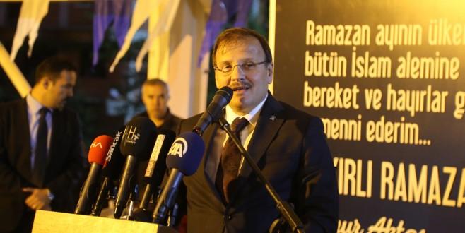 Büyükorhan'da birlik ve beraberlik mesajları
