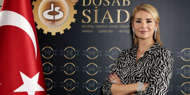 DOSABSİAD Başkanı Çevikel: Güçlü Kadın Güçlü Ülke