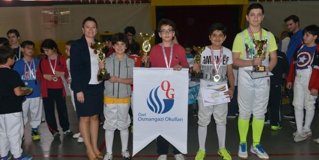 Eskrim turnuvasında kazananlar belli oldu