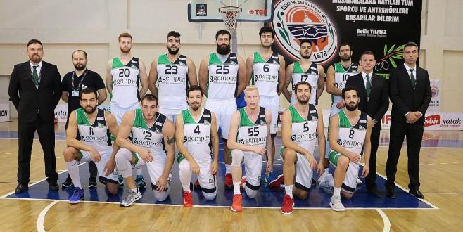 Gemlik Basketbol:90 İzmir Büyükşehir:63
