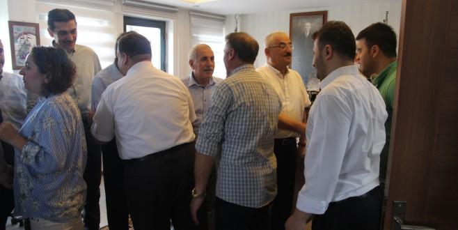 İl Milli Eğitim Müdürü Dülger, Personeliyle Bayramlaştı
