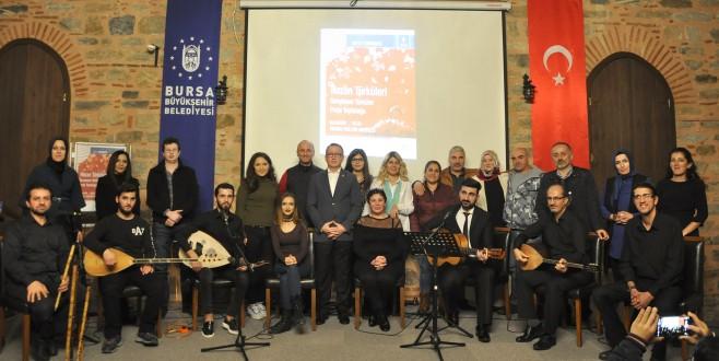 İncirli Kültür Merkezi'nde hazan türküleri